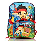 Disney Little Boys' Jake and the Pirates Backpack Lunch Set, Blue, One Size