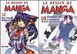 echange, troc Ryo Toudo, Unkaku Koyama - Le dessin de Manga : Pack 2 volumes : Tome 10, Ombres et lumières, travail des trames ; Tome 12, Des traits percutants