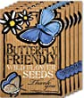 "5 Pack of Butterfly-Friendly ""Thank You"" Wild Flower Seeds"