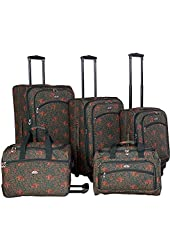 American Flyer Luggage Budapest 5 Piece Spinner Set
