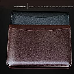 New PU leather Padfolio with Solar calculators Notepad memo Pad Business notebook A5 Office school supplies
