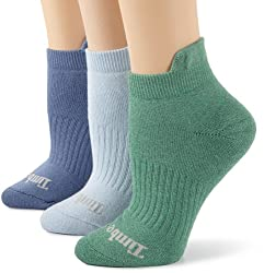 Timberland Women's Outdoor Adventure Colorful Low Rider 3 Pair Socks, assorted, One Size