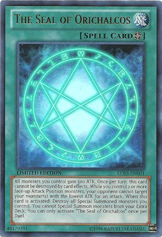 Yu-Gi-Oh! - The Seal of Orichalcos (LC03-EN001) - Legendary Collection 3: Yugi's World - Limited Edition - Ultra Rare (Seal Of Orichalcos Deck compare prices)