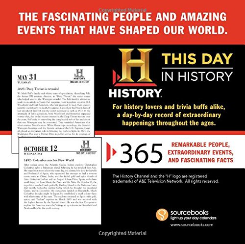 History Channel This Day in History 2016 Boxed Calendar: 365 Remarkable People, Extraordinary Events, and Fascinating Facts