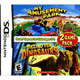 My Amusement Park/Digging for Dinosaurs - Game Pack - Nintendo DS