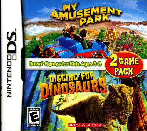 My Amusement Park/Digging for Dinosaurs - Game Pack - Nintendo DS - 1