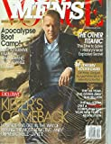 img - for Men's Vogue December January 2009 Kiefer Sutherland book / textbook / text book
