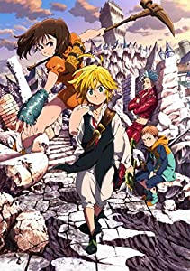 【Amazon.co.jp限定】七つの大罪 1(オリジナルデカ缶バッチ付)(完全生産限定版) [Blu-ray]