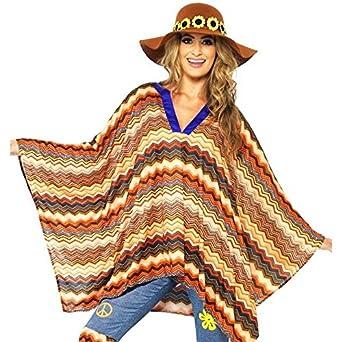 Amazon.com: Smiffy's Women's Karma Kaftan, Multi, One Size