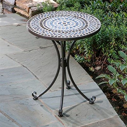 Alfresco Home Tremiti Mosaic Outdoor Bistro Table image