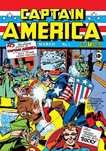 Captain America Comics (1941-1950) #1 (Captain America Comic Book 1 compare prices)