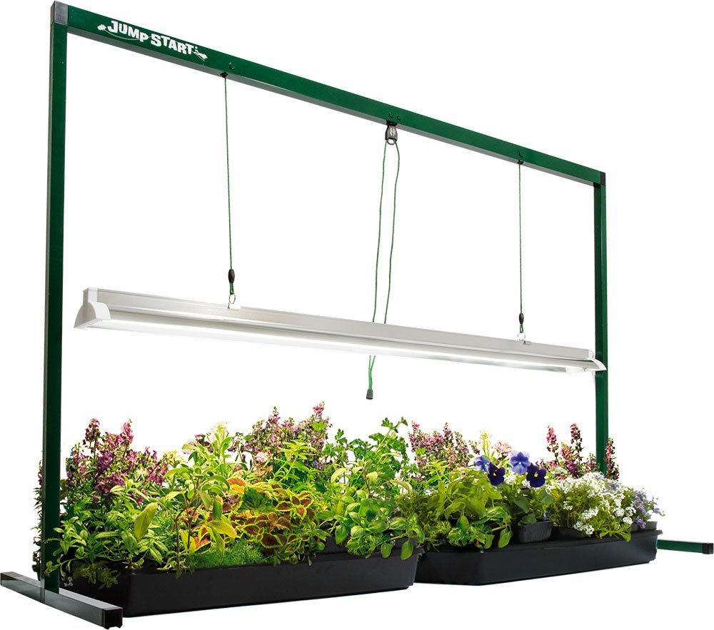 4 Ft Jump Start Grow Light System Indoor Free Stand ...