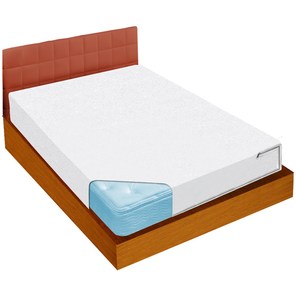 Ideaworks bed bug blockade mattress cover queen size mattress 1 new ebay Mattress queen size