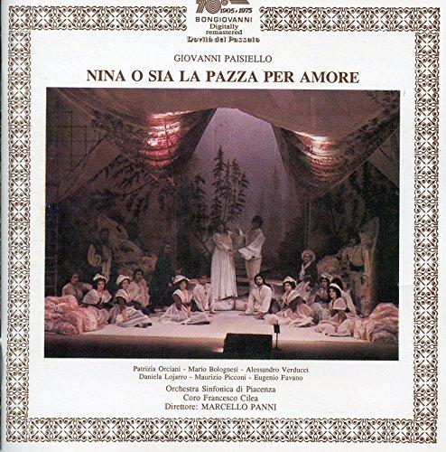 Nina, o sia La pazza per amore: Act I Scene 5: Signor Conte, ella s'e desta (Elisa, Il Conte)