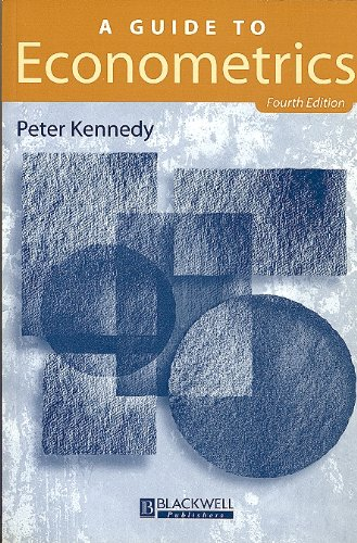 A Guide to Econometrics: Peter Kennedy: 9780631200888: Amazon.com: Books