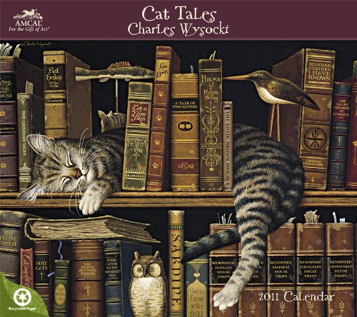 Cat Tales 2011 Wall Calendar