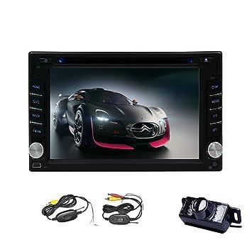 Car DVD / DIVX / MP4 / MP3android 4.4 systššme 2 din voiture VCD, la fonction šŠcran GPS Bluetooth 6.2 INCH, Internet sans fil avec camšŠra sans fil par eincar