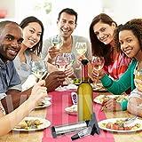 Veluxio Wine Vacuum Pump Wine Preserver with Aerating Wine Pourer