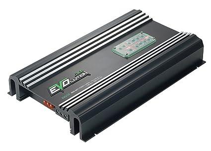 Lanzar EV594 Amplificateur Darlington avec 5 canaux SMD Classe AB/Sub canal Classe D 980 W Noir