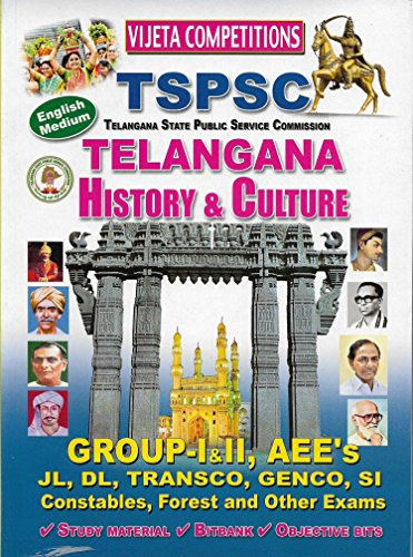 TSPSC- Telangana History & Culture ENGLISH MEDIUM