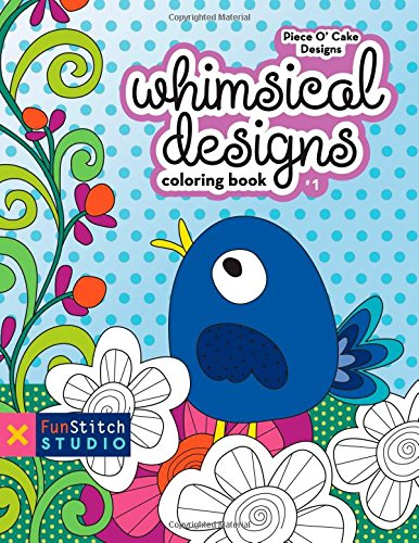 FunStitch Studio-Whimsical Design Coloring Book