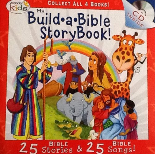 My Build A Bible Storybook! Disc 3- 25 Bible Stories, 25 Bible Songs on Included Music CD - By Wonder Kids