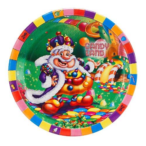 CandyLand Dinner Plates (8) - 1