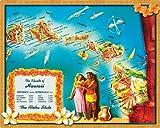 Magic Slice Non-Slip Flexible Cutting Board, Islands of Hawaii by Kate Ward Thacker
