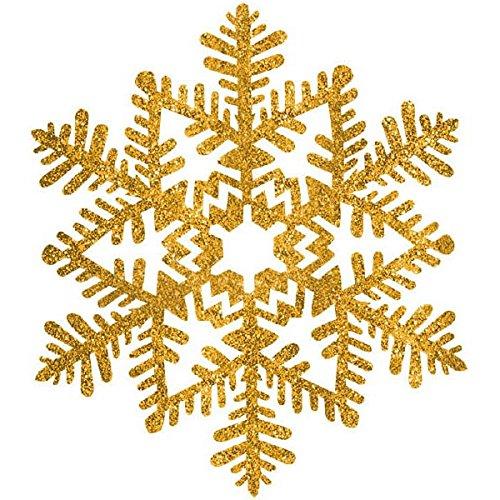 amscan-glittery-christmas-snowflake-plastic-decoration-gold-6-1-2