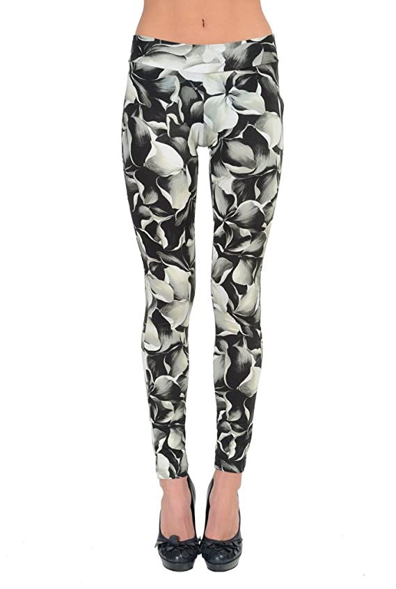 Moncler Leggings Multi-Color Floral Stretch Women's Leggings