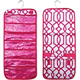 Hanging Fashionista Travel Bag Gift Set For Women - 1 Folding Case With Small Pouches & 1 Folding Case With Larger...