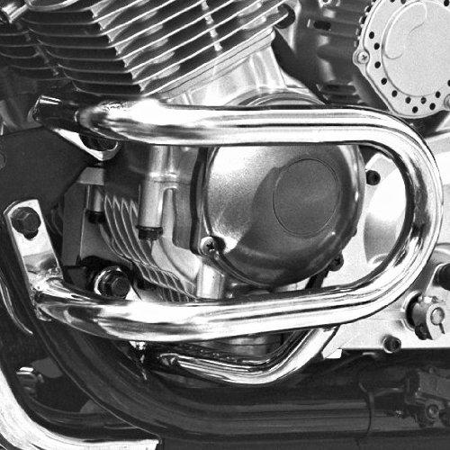 Pare Carter Fehling Yamaha XJ 900 S Diversion 95-03 argent