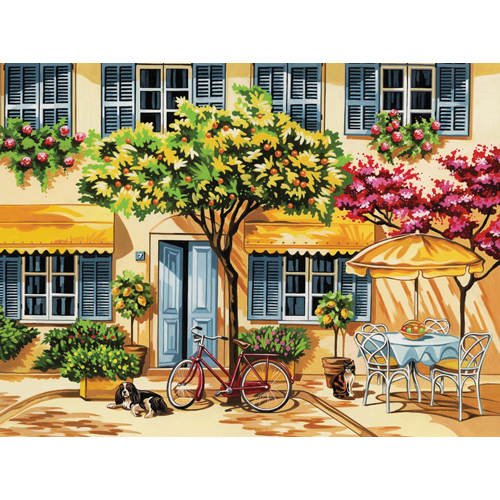 Reeves - Senior Painting By Numbers Acrylic Alfresco