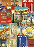 Cavallini New York Wrapping Paper