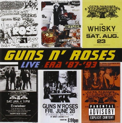 Guns N Roses-Live Era 87-93-2CD-FLAC-1999-FLaKJaX Download
