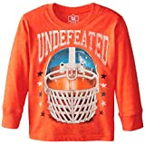 Wes & Willy Little Boys' Undefeated Football Long Sleeve Tee