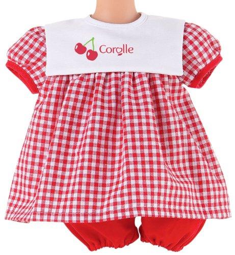 Imagen 1 de Corolle V5743 - Vestido en color rojo para muñecas de 42 cm