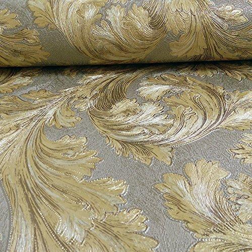 arthouse-vintage-safina-feder-muster-blatt-glitzer-metallisch-vinyl-tapete-gold-291303