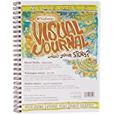 Strathmore Visual Journal Spiral Bound, 9 by 12-Inch, Mixed Media Vellum