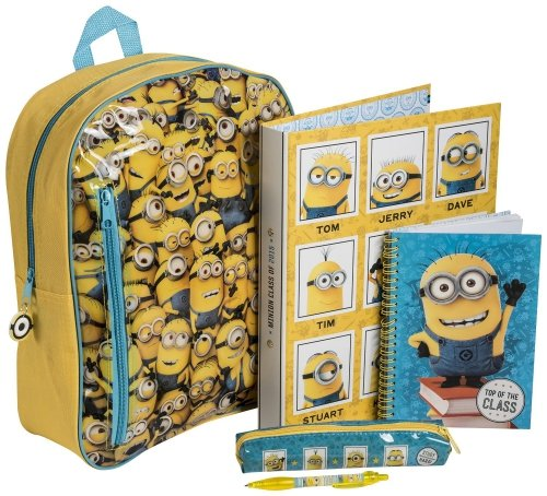 Despicable-Me-Minions-Filled-Stationery-Set-Backpack