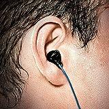 H2O Audio Surge Waterproof Sport In-Ear Headphones (Black/Blue)