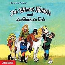 Die wilden Hühner und das Glück der Erde Hörbuch von Cornelia Funke Gesprochen von: Cornelia Funke