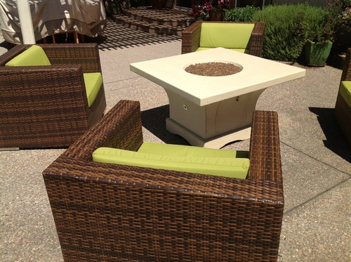 Amazon Genuine Ohana Outdoor Patio Wicker Furniture 7pc All Weather Gorg