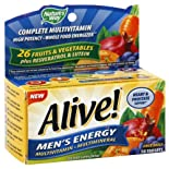 Nature's Way Alive! Multivitamin/Multimineral, Men's Energy, Tablets, 50 ct.