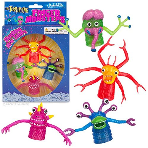 Accoutrements Deluxe Finger Monsters Boxed Set