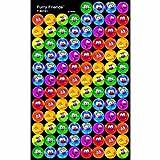 Trend Enterprises トレンド superSpots Stickers Furry Friends® 【ごほうびシール】 キャラクターご褒美シール (800枚入り) T-46191