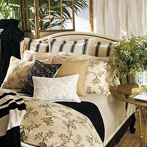 Amazon com lauren ralph lauren bedding plage d or floral king duvet