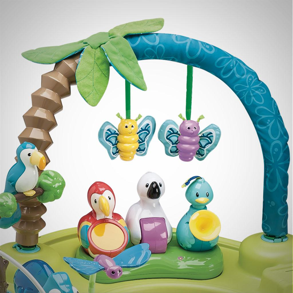 evenflo exersaucer triple fun active learning center life in the amazon. Black Bedroom Furniture Sets. Home Design Ideas