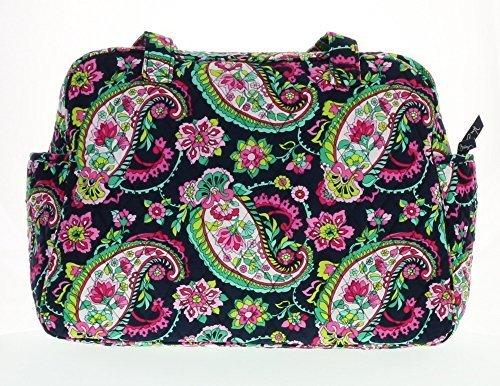 vera-bradley-baby-bag-petal-paisley-with-solid-pink-interior