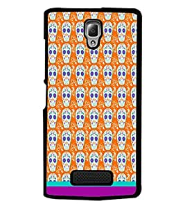 PrintDhaba Pattern D-1633 Back Case Cover for LENOVO A2010 (Multi-Coloured)
